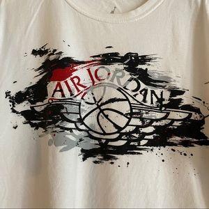 Nike Air Jordan 1 Retro Wings Painted Logo T-shirt